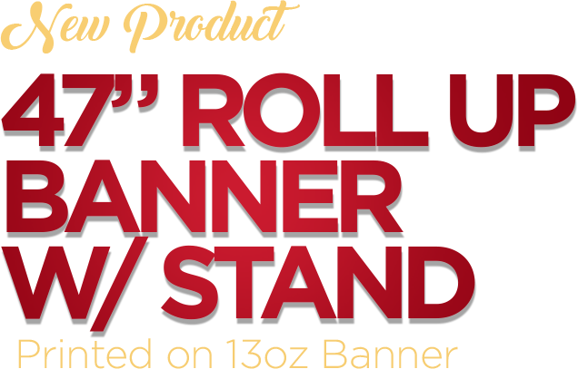 Top Quality Banner – Wholesale Sign Printing
